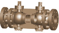 Double Block And Bleed Ball Valve supplier